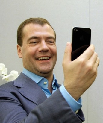 Президент Медведев любит Интернет