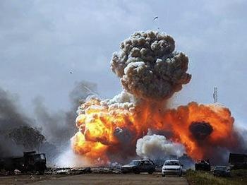 Бомбардировки Ливии