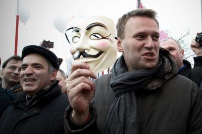 Гарри Каспаров и Алексей Навальный