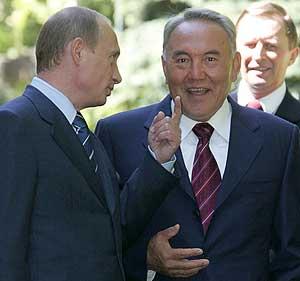 Путин, Назарбаев и их KOLBASA