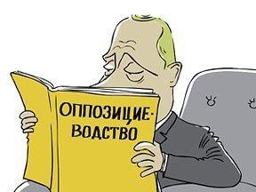 © Сергей Елкин. Оппозициеводство