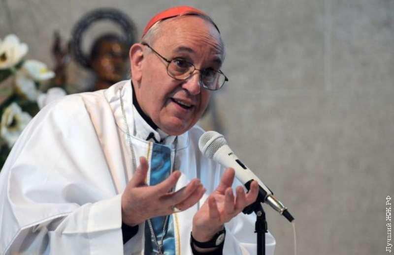 Папа Франциск помолится и за бестолковых