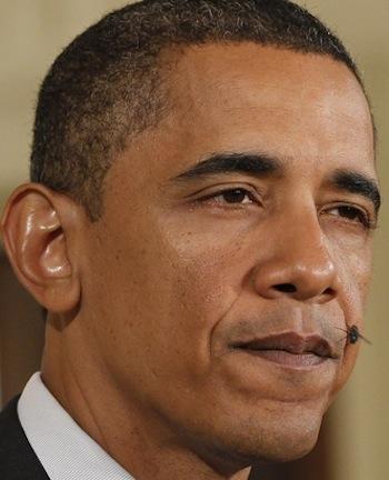 Обама тужится