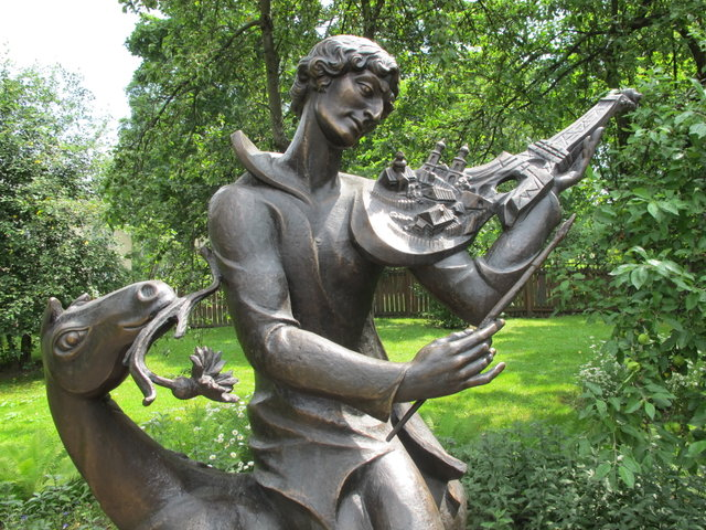 Памятник Марку Шагалу в Витебске