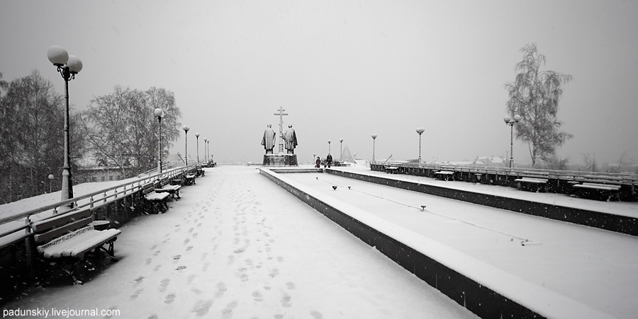 Зима в Х-Мансийске
