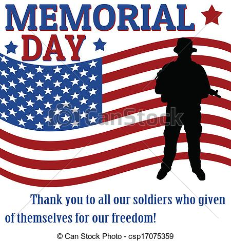 memorial-day-clipart-can-stock-photo_csp17075359