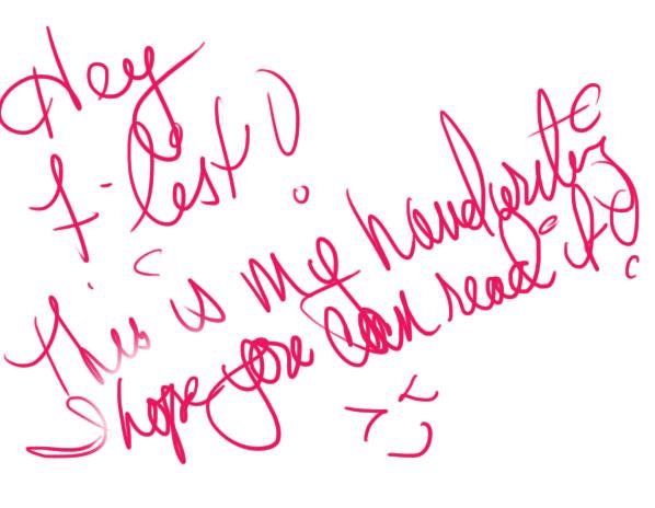kira-handwriting
