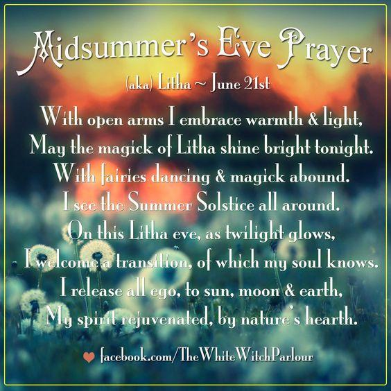litha prayer