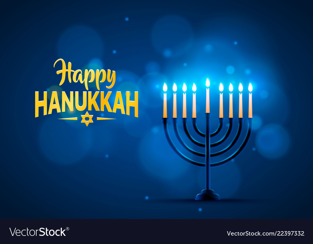happy-hanukkah-background-cover-vector-22397332