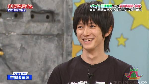movielosophy | [TvShow] Shingeki no Kyojin Vs Arashi