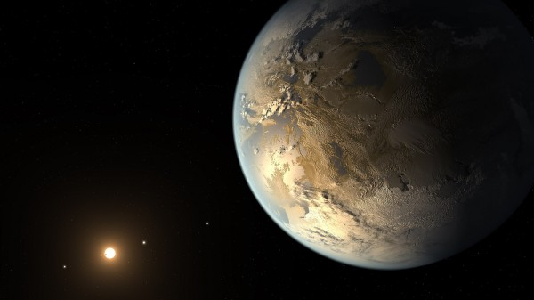 NASA создало интерактивную визуализацию поверхности Kepler-186f
