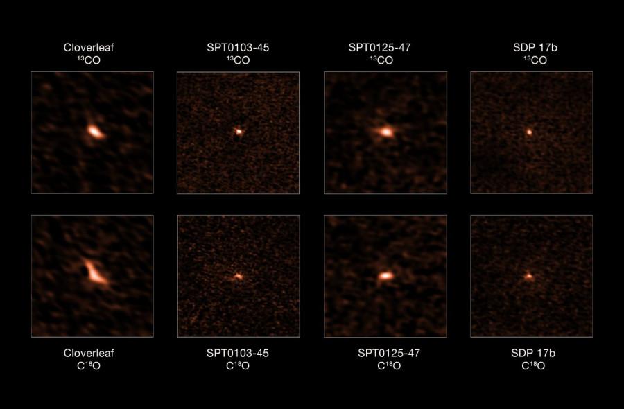 В галактиках со вспышками звездообразования содержится слишком много массивных светил