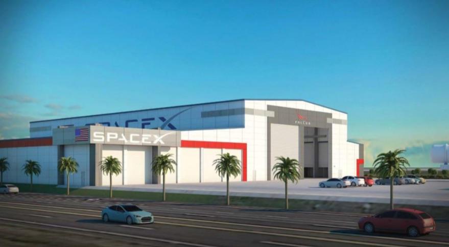 SpaceX планирует расширить свое присутствие на мысе Канаверал SpaceX, ракет, станет, эксплуатационной, запусков, управления, Falcon, также, общей, документе, будет, башня, центр, компании, площадью, центре, Канаверал, планирует, будут, ступени