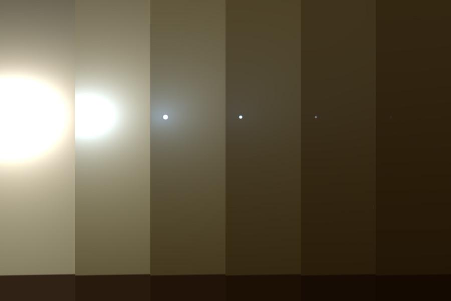 Марсианская пылевая буря продолжат усиливаться