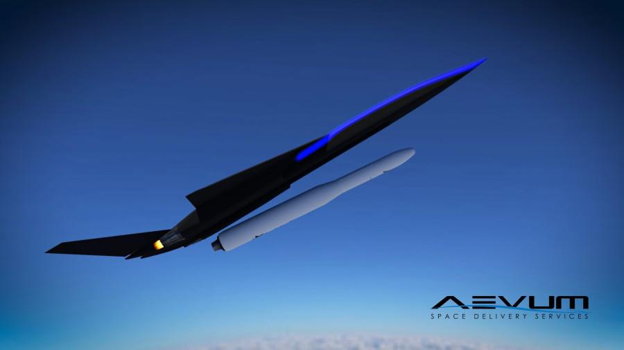 Американский стартап планирует запускать спутники с ракетоплана