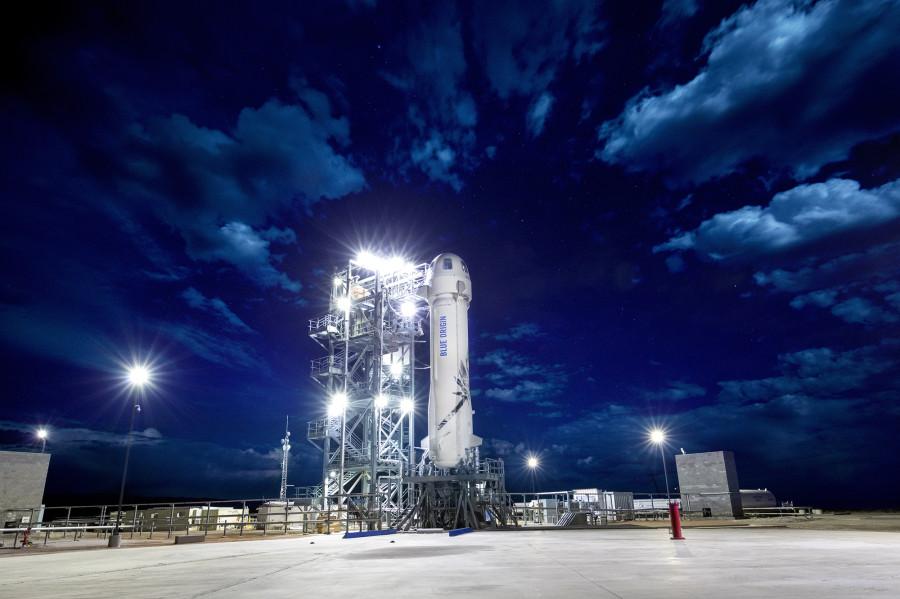 Blue Origin успешно испытала систему спасения New Shepard