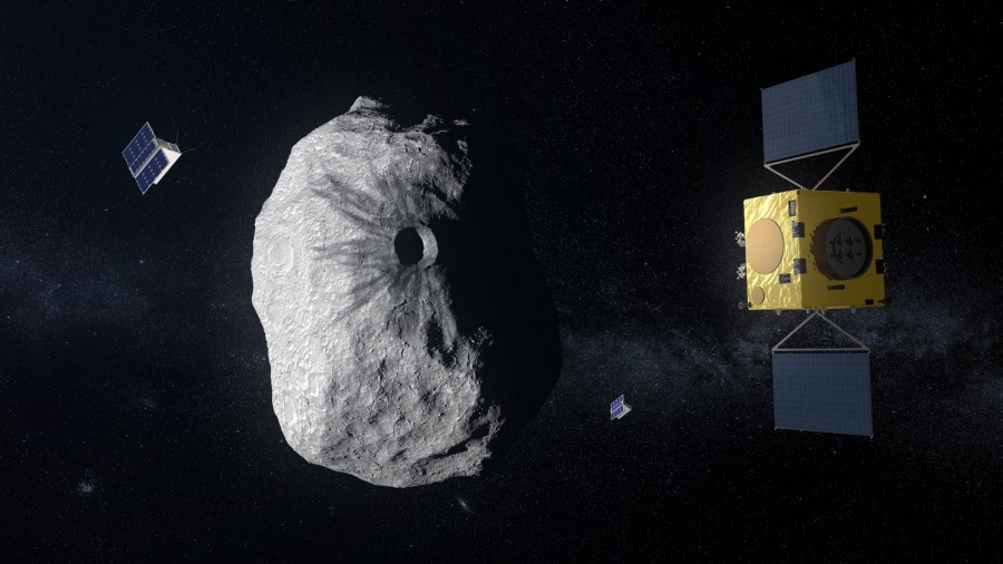 Europe prepares a mission for the double asteroid Didymoon, also, will become a satellite, is, an asteroid, asteroid, 65803, Asteroid, project, impact, data, carefully, measure, crater, remaining, after, better, astronomers, asteroids