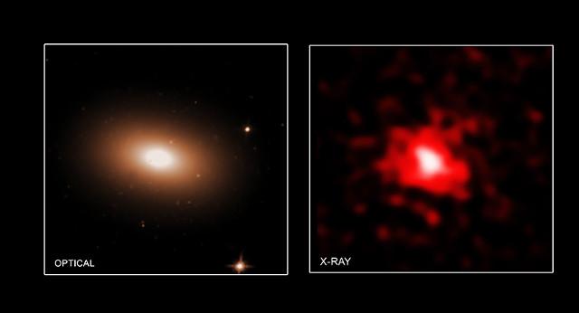 Телескоп Chandra увидел как черные дыры остановили формирование звезд