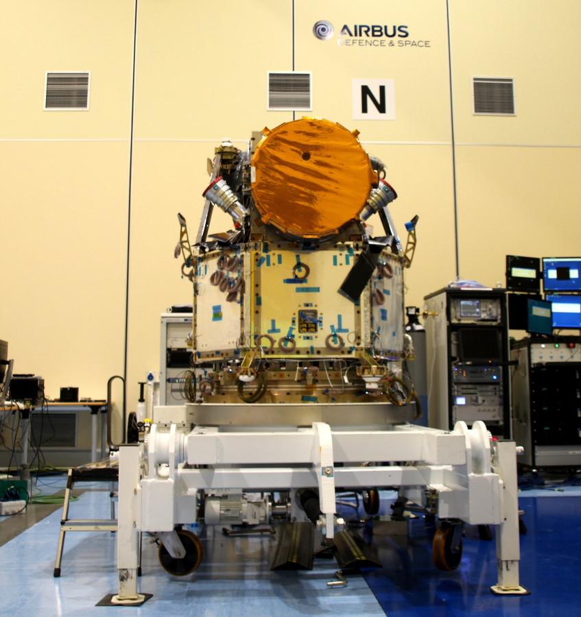 Сборка телескопа CHEOPS завершена
