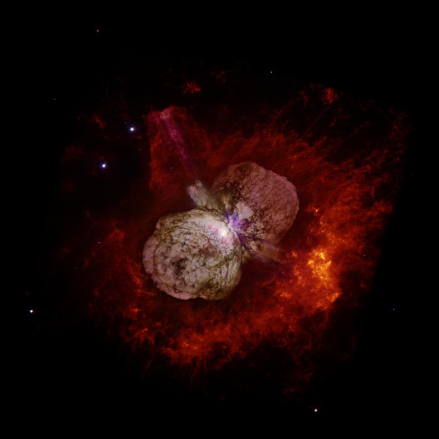 Великая вспышка Эта Киля могла быть вызвана слиянием двух звезд