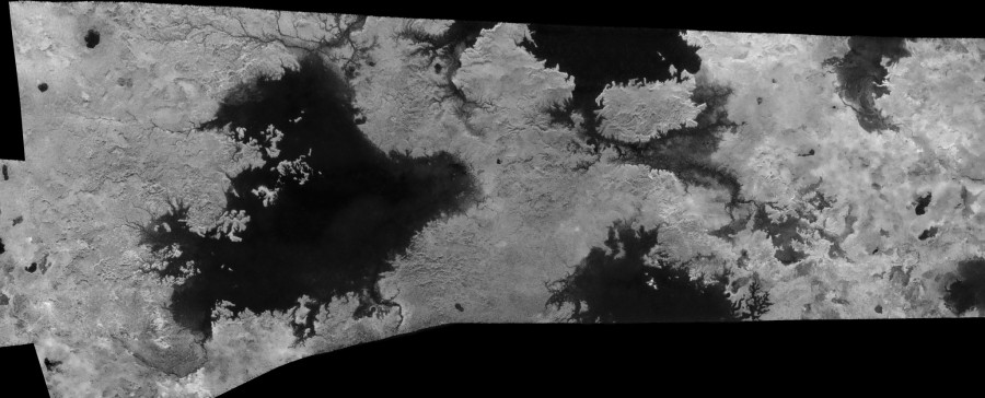 Углеводородные моря Титана