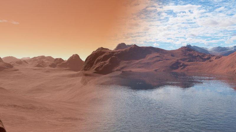 Mars Express обнаружил следы подповерхностного озера на Марсе