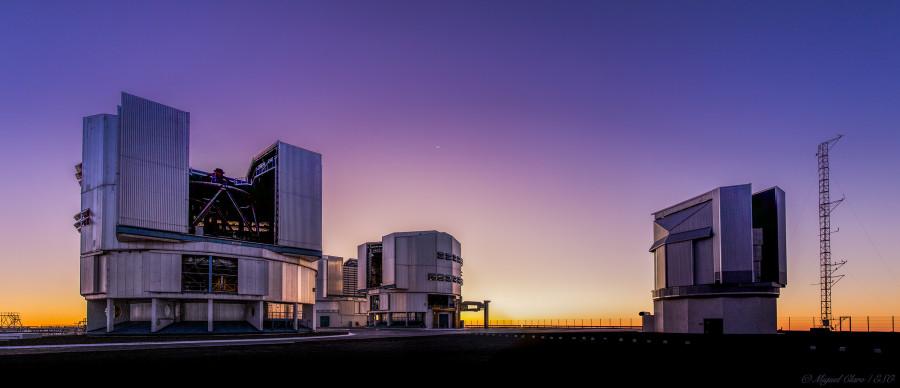 Обзорный телескоп VLT сфотографировал россыпь эллиптических галактик