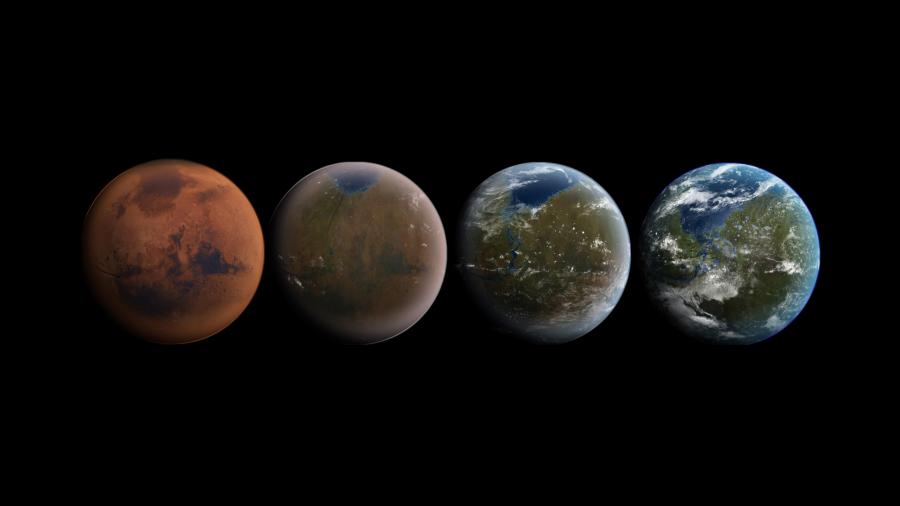 На Марсе недостаточно углекислоты для проведения терраформации