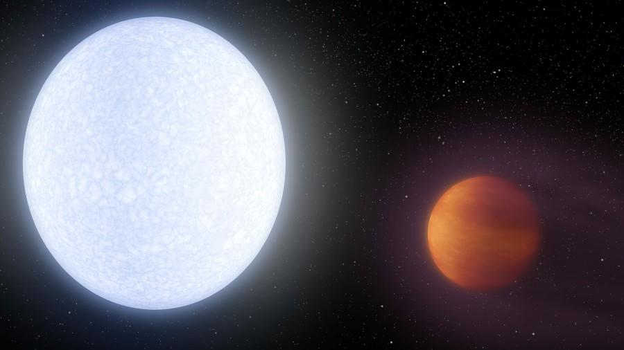 В атмосфере KELT-9b. нашли редкоземельные элементы
