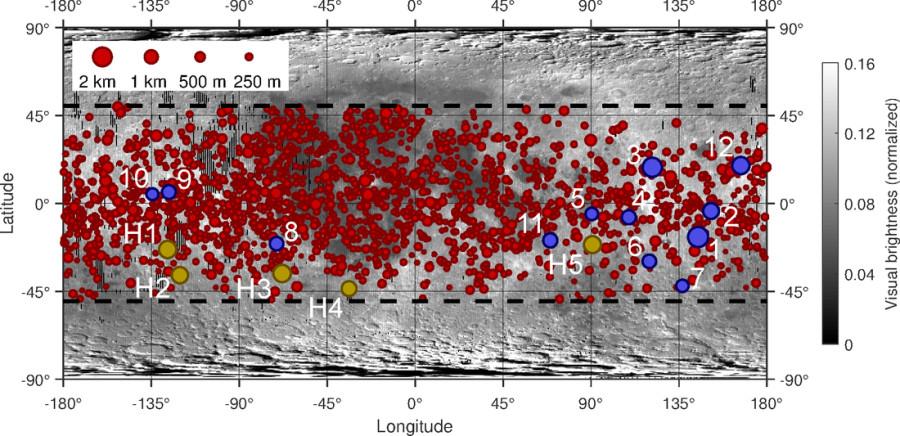 LRO сфотографировал холодную аномалию возле кратера Эйнтховен