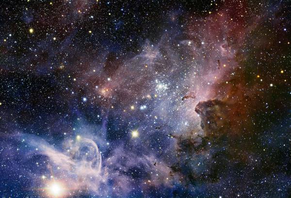 Телескоп VISTA сфотографировал одну из крупнейших туманностей Млечного Пути