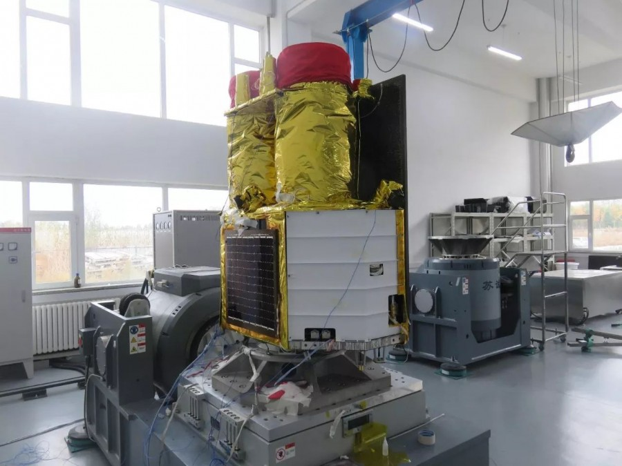 The Chinese satellite photographed the ISS Jilin1, resolution, remote, Chinese, amounts, satellite, Earth, sensing, vehicles, headers, installed, According to the plan, the end, the system must, will, by company, consist