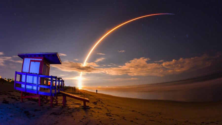 SpaceX осуществила 60-й успешный запуск ракеты Falcon 9