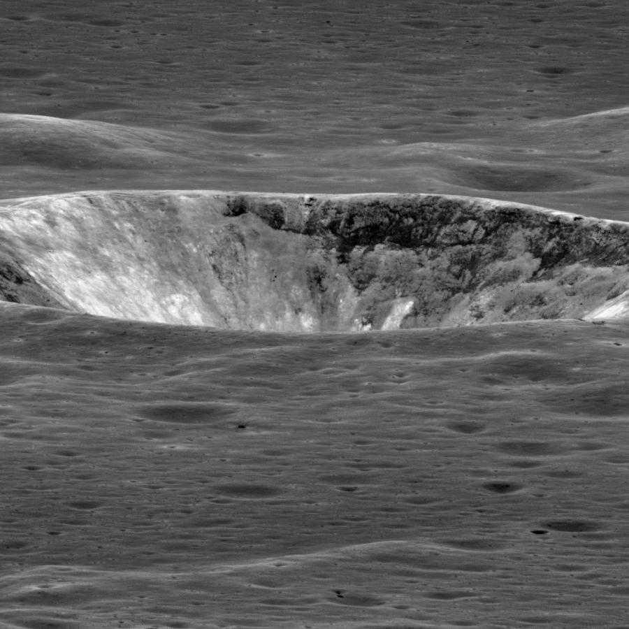 Слоеный кратер Валлаха