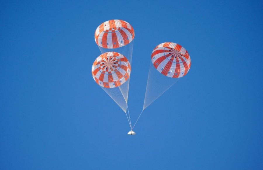 NASA завершило парашютные тесты капсулы Orion Orion, время, различных, система, парашютной, системы, корабля, должна, Капсула, Испытание, парашютов, самолета, сентября, капсулы, космического, последующие, тестов, основательно, успешными, последним