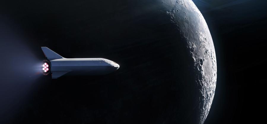 В понедельник SpaceX назовет имя первого лунного туриста