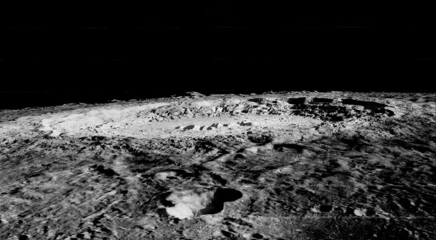 Центральный пик кратера Коперника