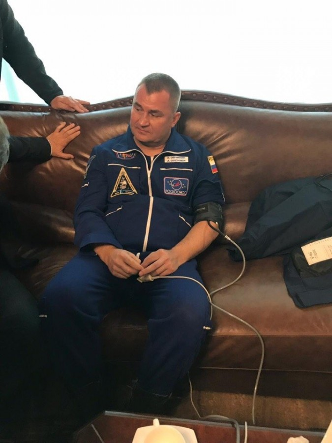 Экипаж «Союз МС-10» вернулся на Байконур
