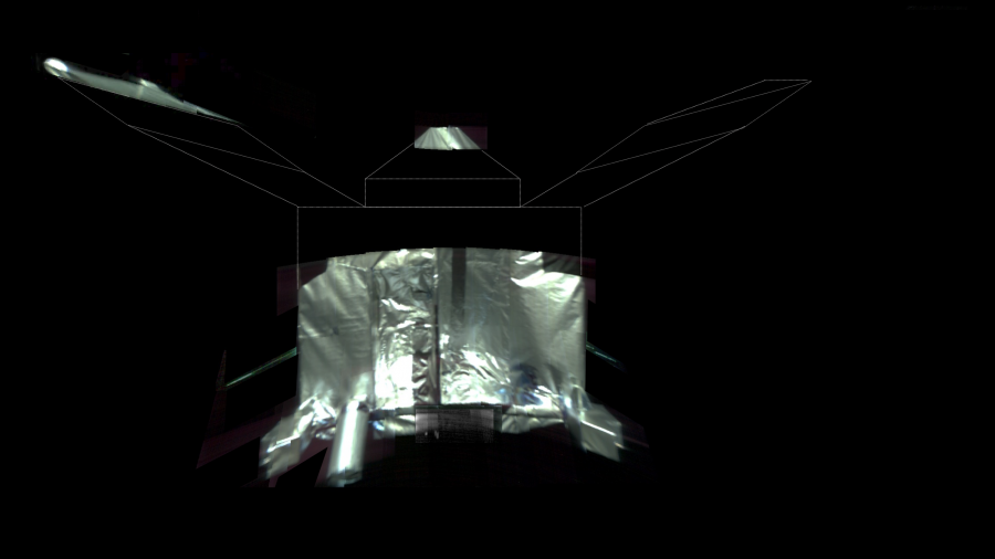 Аппарат MAVEN сделал селфи на орбите вокруг Марса