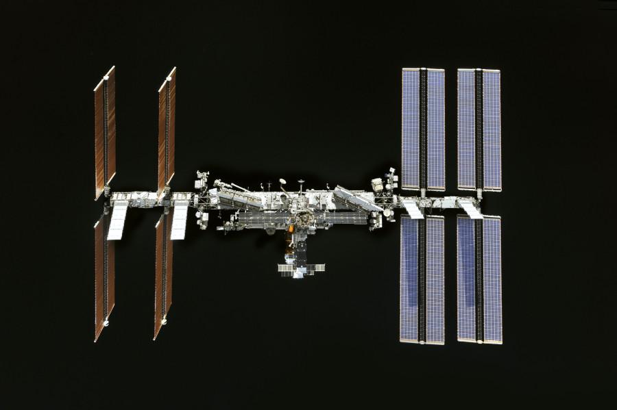 МКС глазами «Союз МС-08»