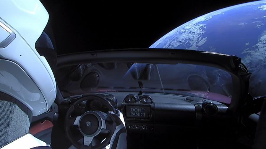 Tesla Roadster скоро пройдет свой первый афелий Tesla, автомобиля, Roadster, орбиту, время, спорткар, расстоянии, запуска, миллиона, воздействием, афелий, Falcon, пространство, Heavy, автомобиль, пройдет, лежит, течение, несколько, миллионов