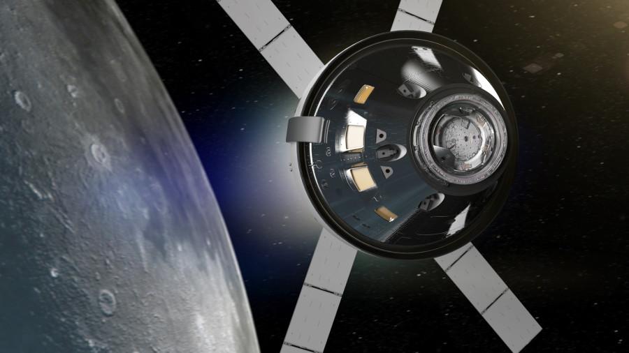 Служебный модуль Orion прибыл в США Orion, модуля, служебного, корабль, Землю, Airbus, будет, время, миссия, Defence, модуль, миссии, первый, космического, собранный, симулирующих, условия, тестов, которые, вакуумных