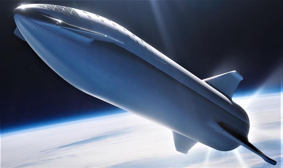 Вторая ступень Falcon 9 станет «мини-версией» BFR будет, SpaceX, ступень, ступени, испытание, ракетой, первой, сможет, второй, орбиту, носитель, компания, атмосферу, посадки, Falcon, должна, снижению, космический, запуск, примерно