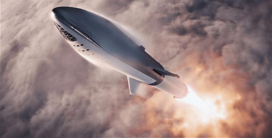 Вторая ступень Falcon 9 станет «мини-версией» BFR