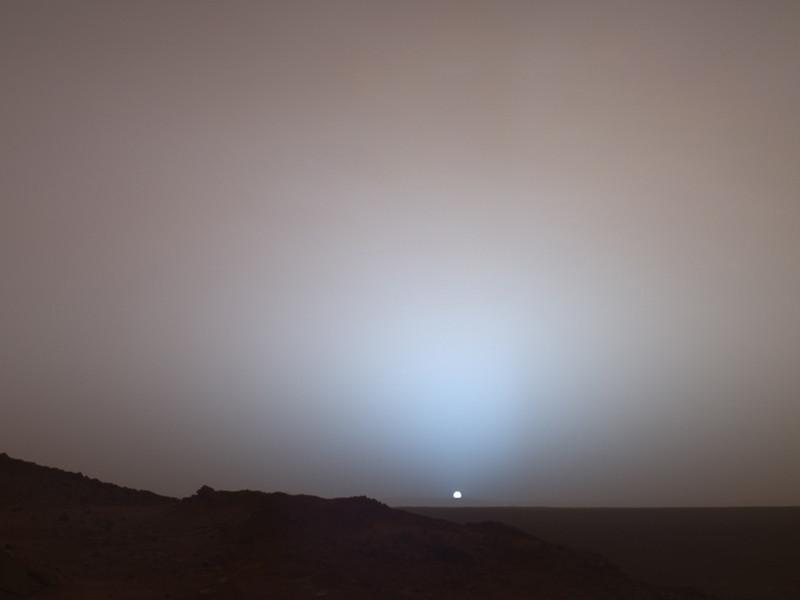 Фотографию марсианского рассвета превратили в музыку