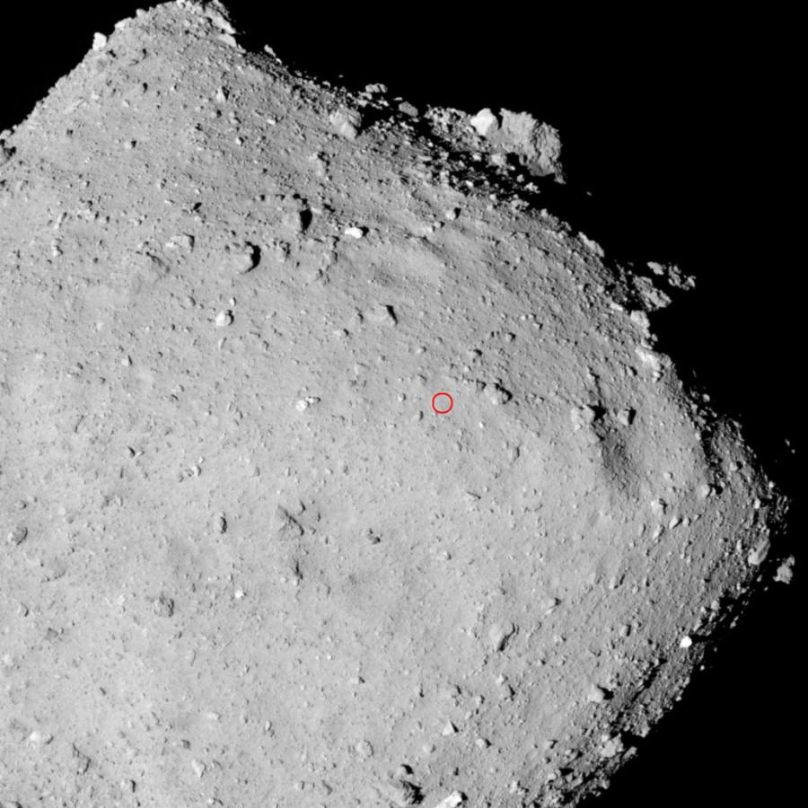 «Хаябуса-2» попробует взять образец вещества астероида Рюгу 18 февраля