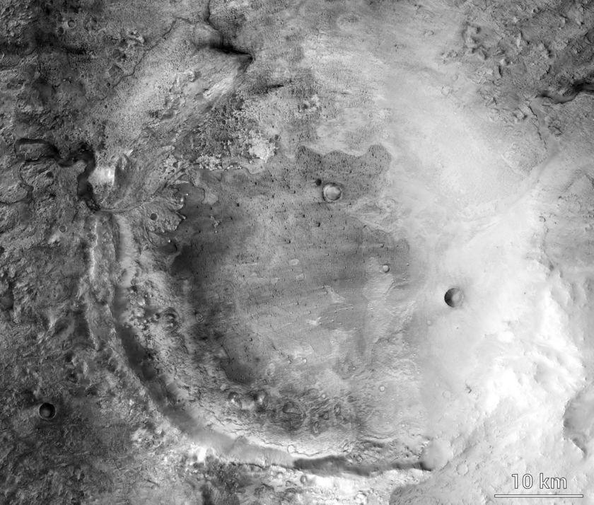Названо место посадки Mars 2020