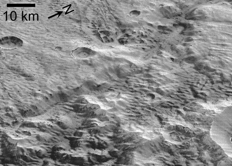 Плутон пережил ледниковый период