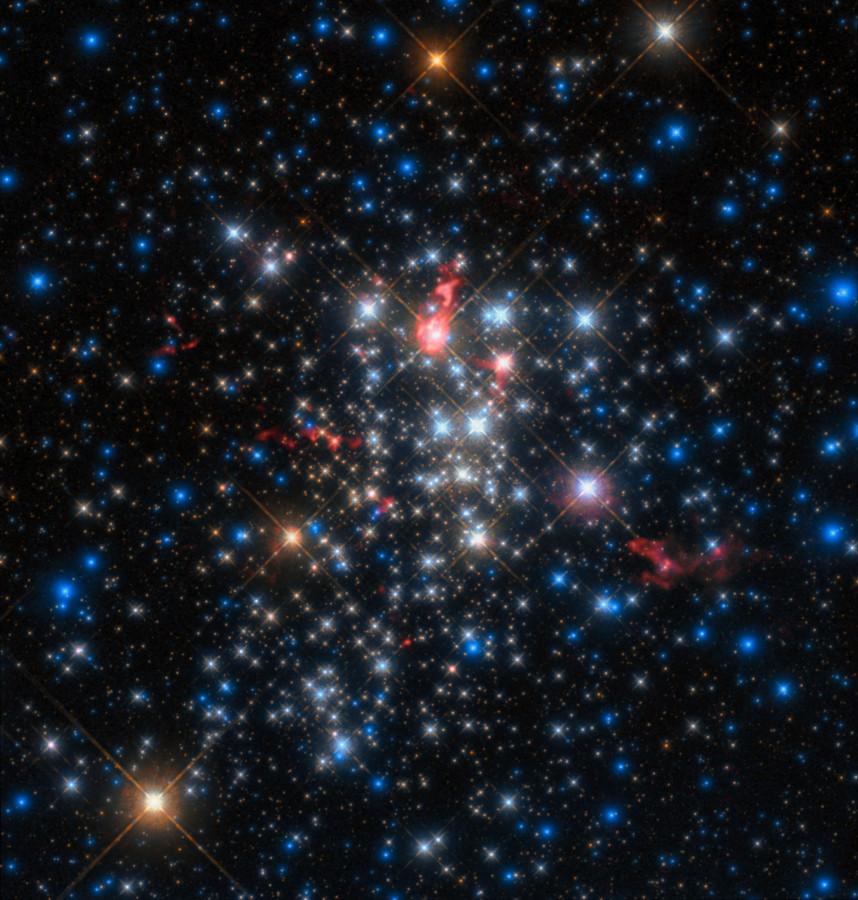 ALMA увидел звезды похожие на кометы