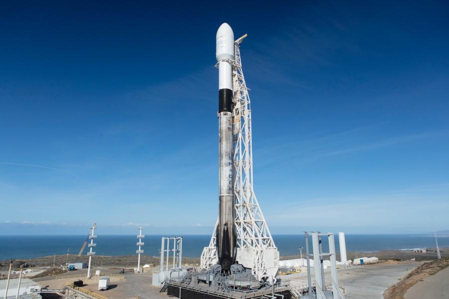 Прямая трансляция запуска Falcon 9 (миссия SSO-A SmallSat Express)
